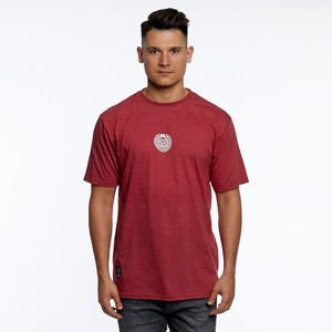 Mass DNM koszulka Base Small Logo T-shirt heather claret