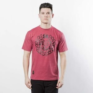 Mass DNM koszulka Base T-shirt - heather claret