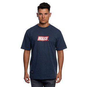 Mass DNM koszulka Big Box Medium Logo T-shirt - heather navy
