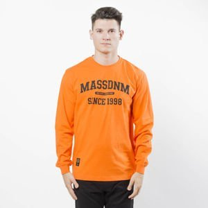 Mass DNM koszulka Campus Longsleeve - orange