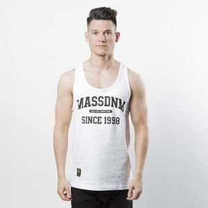 Mass DNM koszulka Campus Tank Top - white