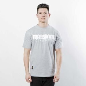 Mass DNM koszulka Classics T-shirt - light heather grey