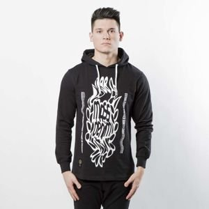 Mass DNM koszulka Disruption Longsleeve Hoody - black