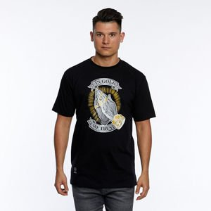 Mass DNM koszulka In Gold We Trust T-shirt black