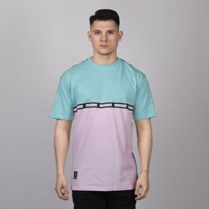 Mass DNM koszulka Line - mint / light pink