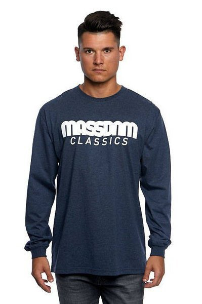 Mass DNM koszulka Longsleeve Classics - heather navy