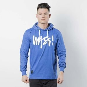 Mass DNM koszulka Longsleeve Hoody Signature - heather blue
