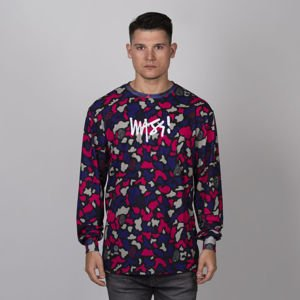 Mass DNM koszulka Longsleeve Signature Medium Logo purple camo