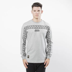 Mass DNM koszulka Longsleeve Trail - light heather grey