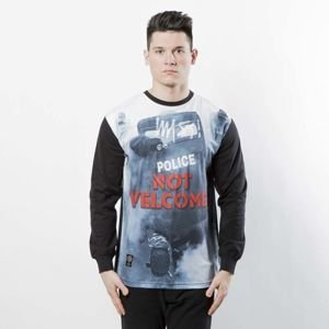 Mass DNM koszulka Not Welcome Longsleeve - multicolor