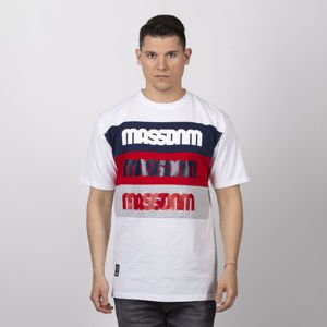 Mass DNM koszulka Separate T-shirt - white
