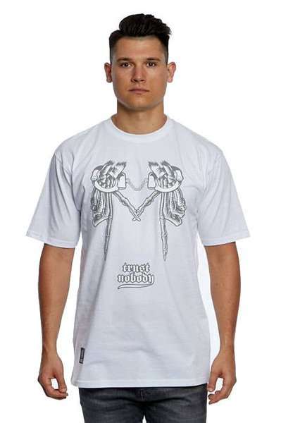 Mass DNM koszulka Shackles T-shirt white