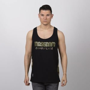 Mass DNM koszulka Shelter Tank Top - black
