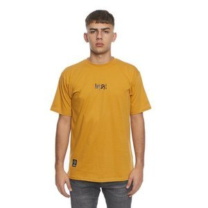 Mass DNM koszulka Signature Small Logo T-shirt wheat
