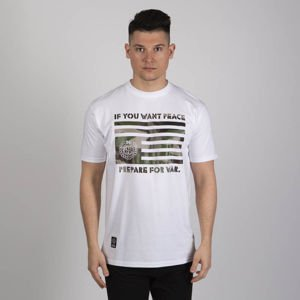 Mass DNM koszulka War & Peace T-shirt - white