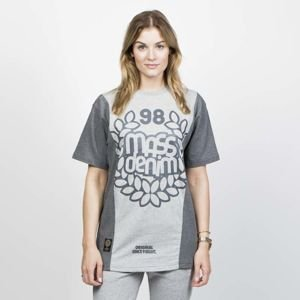 Mass DNM koszulka damska False Start T-shirt - heather grey WMNS