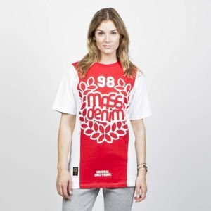 Mass DNM koszulka damska False Start T-shirt - white / red WMNS