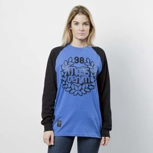 Mass DNM koszulka damska Longsleeve Base Reglan WMNS - heather blue / black