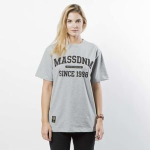 Mass DNM koszulka damska T-shirt Campus WMNS - light heather grey