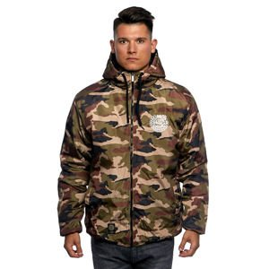 Mass DNM kurtka zimowa Jacket Base - woodland camo