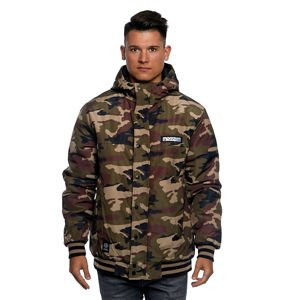 Mass DNM kurtka zimowa Jacket District - woodland camo
