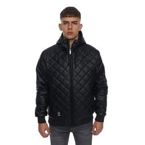 Mass DNM kurtka zimowa Jacket Flyer Quilted - black