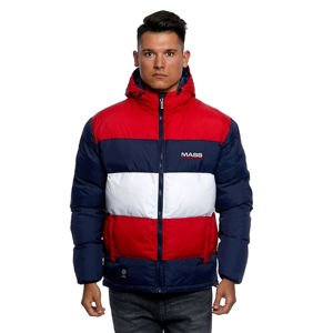 Mass DNM kurtka zimowa Jacket Slapshot - navy/red