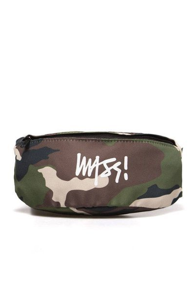 Mass DNM saszetka Hip Case Signature - woodland camo