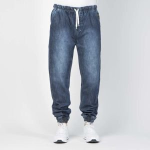 Mass DNM spodnie Campus Joggers Jeans Sneaker Fit - dark blue