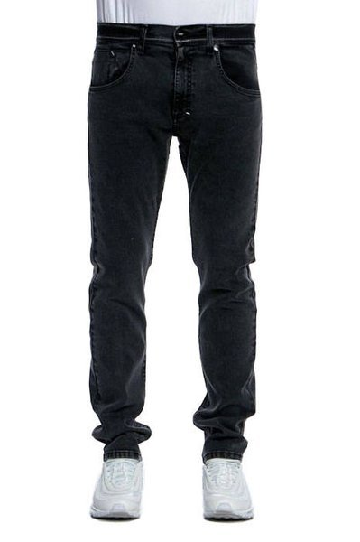 Mass DNM spodnie Classics Jeans Straight Fit - black stone washed