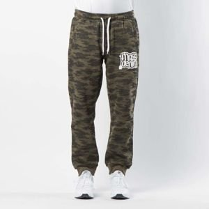 Mass DNM spodnie dresowe Assassin Sweatpants Trap Fit - khaki