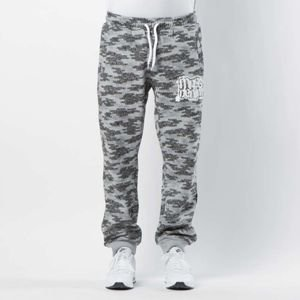 Mass DNM spodnie dresowe Assassin Sweatpants Trap Fit - light heather grey