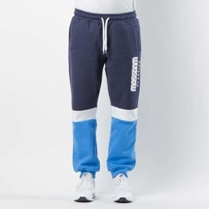 Mass DNM spodnie dresowe Respect Sweatpants - blue / navy