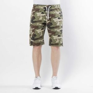 Mass DNM szorty Base Shorts Pants straight fit woodland camo