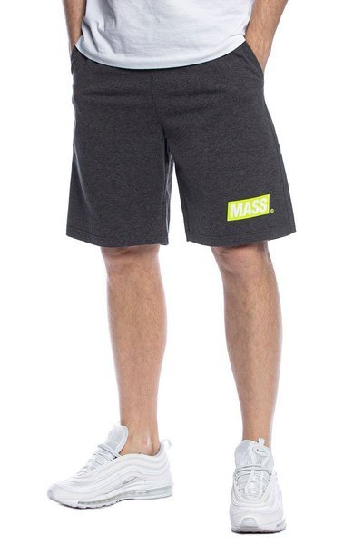 Mass DNM szorty Big Box Sweatshorts - ciemnoszare