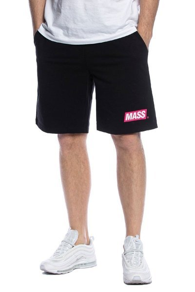 Mass DNM szorty Big Box Sweatshorts - czarne