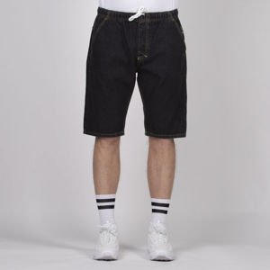 Mass DNM szorty Classics Shorts Jeans straight fit - black rinse