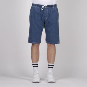 Mass DNM szorty Classics Shorts Jeans straight fit - blue