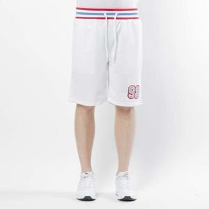 Mass DNM szorty Liberty Shorts Mesh - white