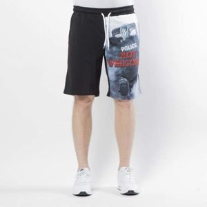 Mass DNM szorty Not Welcome Sweatshorts - multicolor