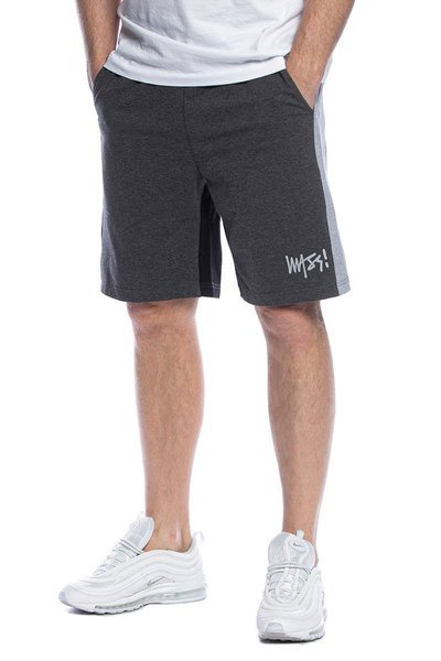 Mass DNM szorty Parts Sweatshorts - szare