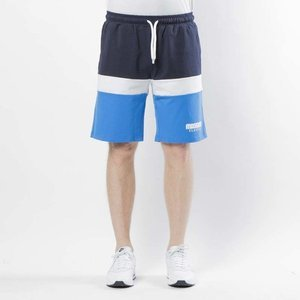 Mass DNM  szorty Respect Sweatshorts - blue / navy