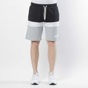 Mass DNM  szorty Respect Sweatshorts - light heather grey / black