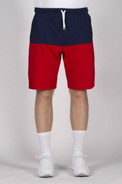 Mass DNM szorty Separate Sweatshorts - navy / red