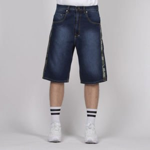 Mass DNM szorty Shelter Shorts Jeans baggy fit - dark blue