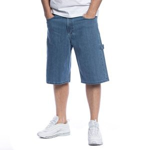 Mass DNM szorty Worker Shorts Jeans baggy fit - niebieskie