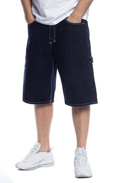 Mass DNM szorty Worker Shorts Jeans baggy fit - sprane