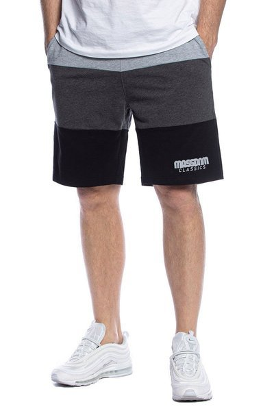 Mass DNM szorty Zone Sweatshorts - szare