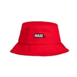 Mass Denim kapelusz Mini Box Logo Bucket Hat - czerwony
