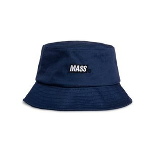 Mass Denim kapelusz Mini Box Logo Bucket Hat - granatowy
